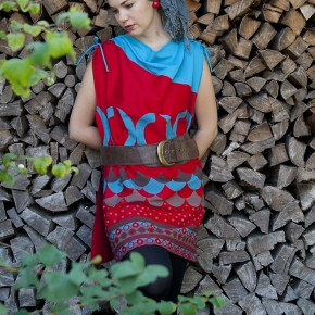 Valli Tunic Red_1